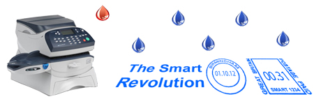 Smart Franking Machines Blue Ink