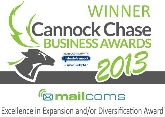 Mailcoms Business Awards Winners