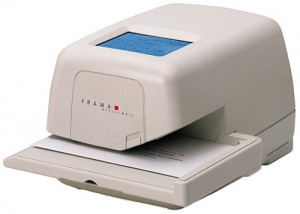 Frama Officemail Franking Machine