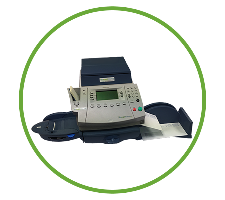 Mailmark compatible franking machine