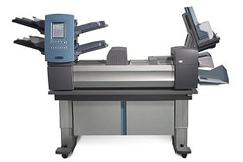 pitney bowes folding machine