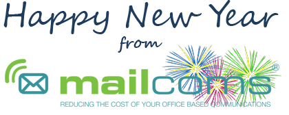 Happy New Year 2015 - from Everyone at Mailcoms