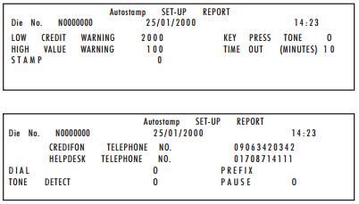 warning reports