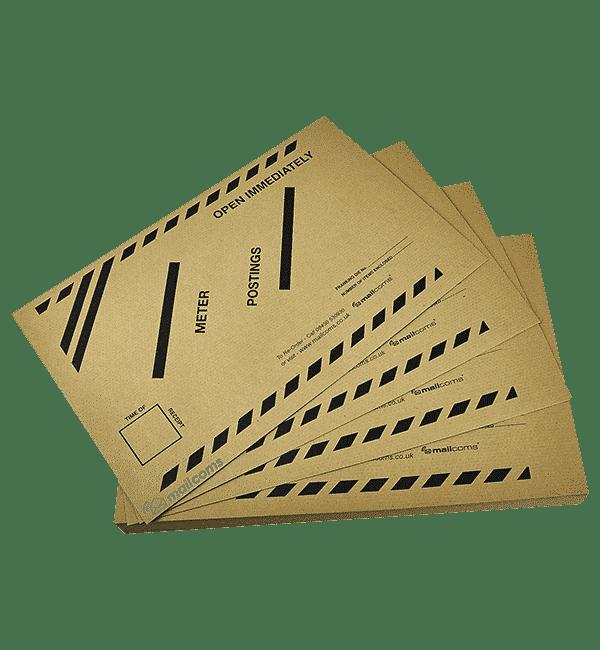 100 Late Meter Posting Franking Envelopes