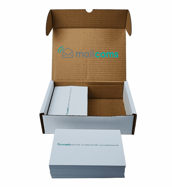1000 Mailcoms Mailbase Plus / Mailbase Speed Double Sheet Franking Labels