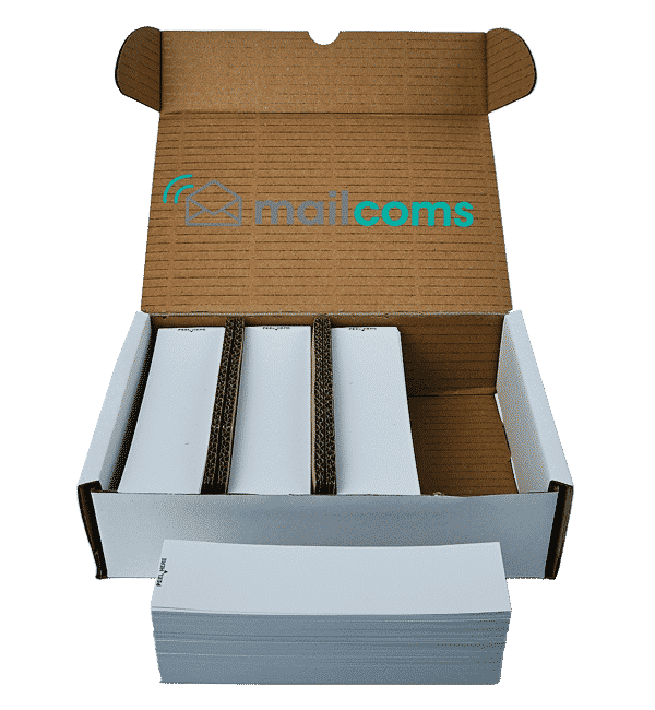1000 Mailcoms Mailhub Franking Labels – Single
