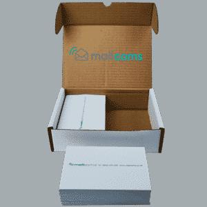1000 Mailcoms Mailsend Franking Labels