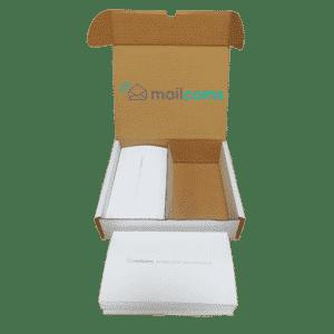 1000 Mailcoms Mailsend+ Long (175mm) Franking Labels