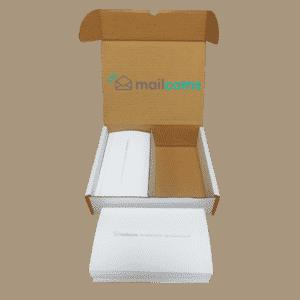 1000 Mailcoms Mailstart 2 Long (175mm) Franking Labels