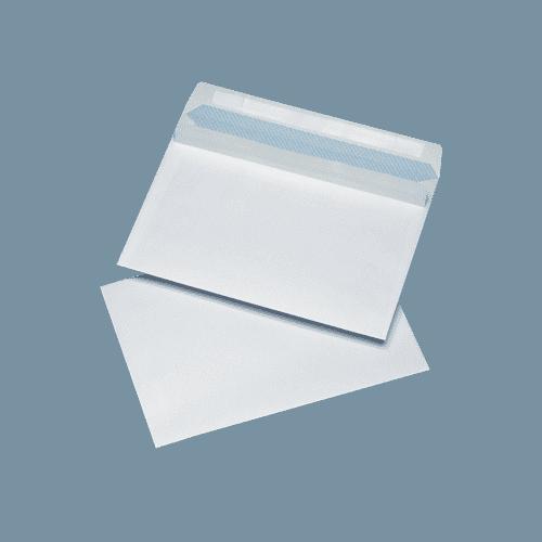 500 White C5 Non Windowed Self Seal Envelopes (162mm x 229mm)