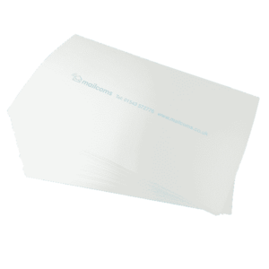 500 Mailcoms Mailsend Long (175mm) Franking Labels