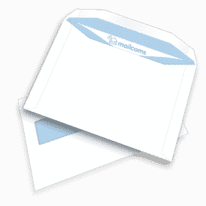 500 White C5+ Gummed Plain High Windowed (45mm x 90mm Window) Envelopes (162mm x 235mm)