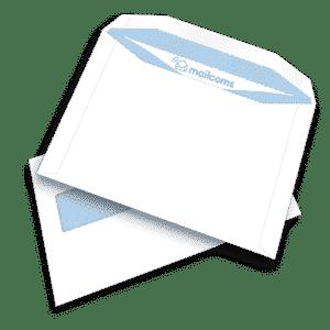 500 White C5+ Gummed Plain Windowed (45mm x 90mm Window) FP Mailing Folding Inserting Machine Envelopes (162mm x 235mm)