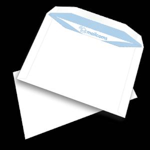 500 White C5+ Gummed Plain (Non Window) Envelopes (162mm x 235mm)