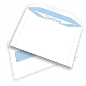 500 White C5+ Gummed Plain Windowed (45mm x 90mm Window) Envelopes (162mm x 235mm)