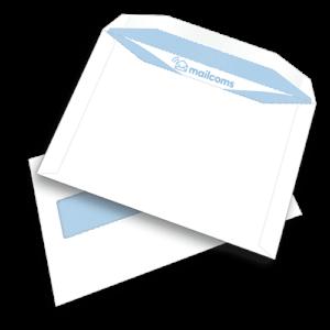 500 White C5+ Gummed Plain Windowed (45mm x 90mm Window) Envelopes (162mm x 235mm)
