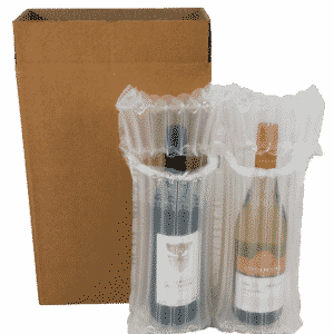 AirSac Inflatable Cushioning - Twin Wine Kit - 480x410mm