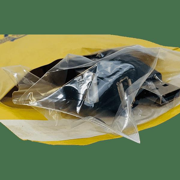 Gold Arofol Envelopes - Size 1 - 100x165mm - Pack Of 200