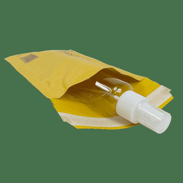 Gold Arofol Envelopes - Size 2 - 120x215mm - Pack Of 200