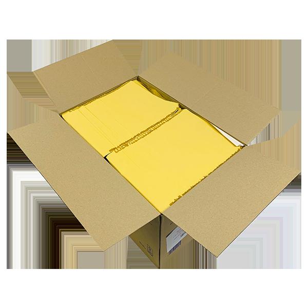 Gold Arofol Envelopes - Size 5 - 220x265mm - Pack Of 100