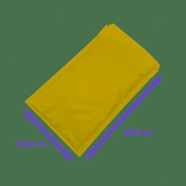 Gold Arofol Envelopes - Size 4 - 180x265mm - Pack Of 100