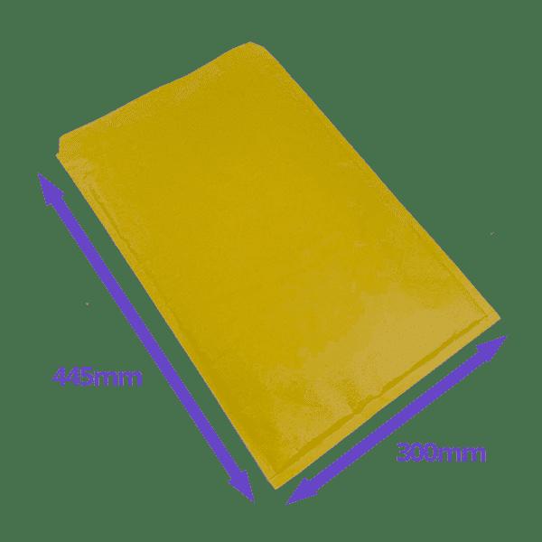Gold Arofol Envelopes - Size 9 - 300x445mm - Pack Of 50