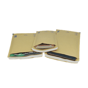 Arofol Size AR4 Gold Padded Bubble Envelopes 180x265mm - Pack 100