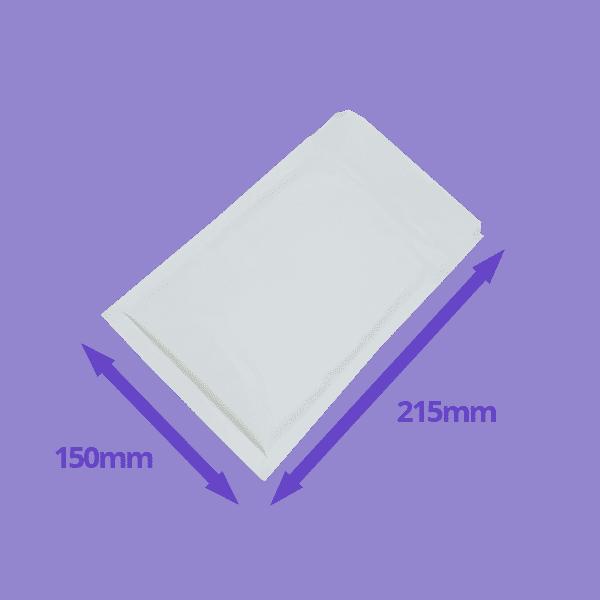White Arofol Envelopes - Size 3 - 150x215mm - Pack Of 100