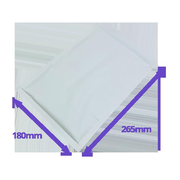White Arofol Envelopes - Size 4 - 180x265mm - Pack Of 100