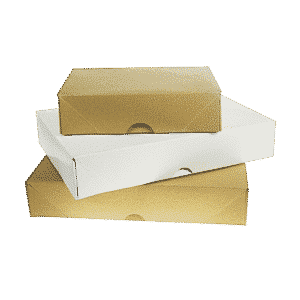 Brown A5 Brown Ream Boxes - 216x157x57mm