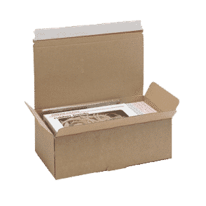 Brown Postal Box - PB5 - 252x136x88mm