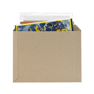 Brown Postal Envelopes PE1 - 234x175x0-30mm