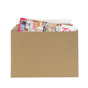 Brown Postal Envelopes PE3 - 330x230x0-30mm