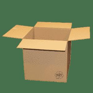 Brown Single Wall Cardboard Boxes - 305x305x305