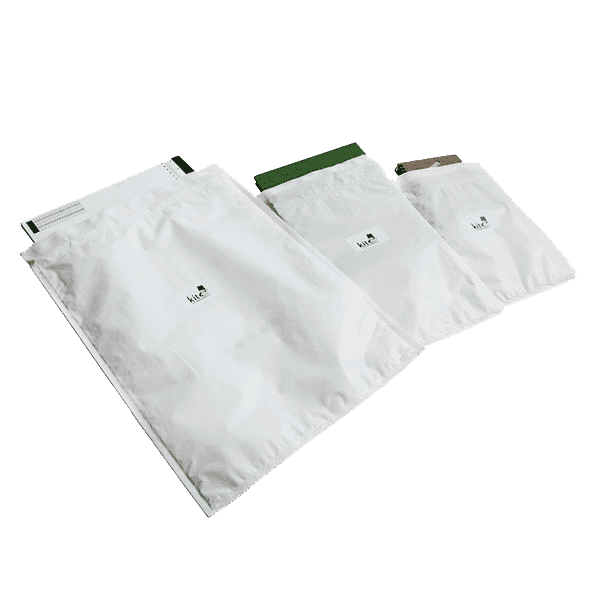 Bubble Lined Polythene Mailing Bags - Size K - 350 x 470 mm - Pack of 50