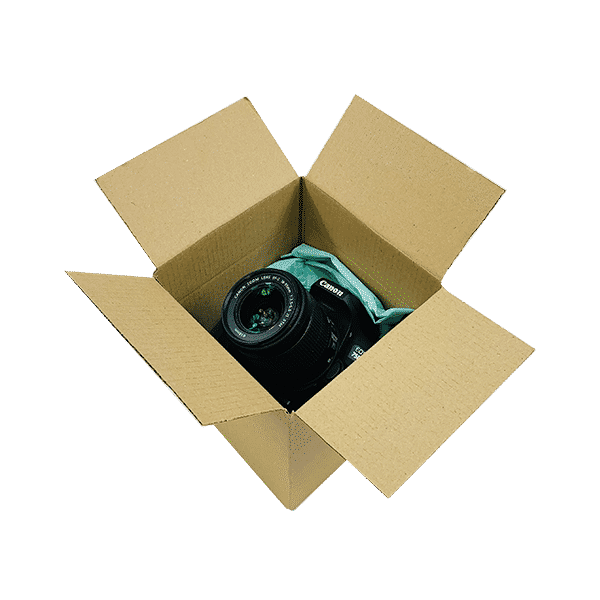 Single Wall Cardboard Boxes - 152x152x152mm