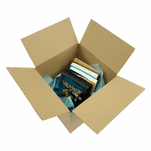 Single Wall Cardboard Boxes - 229x229x229mm