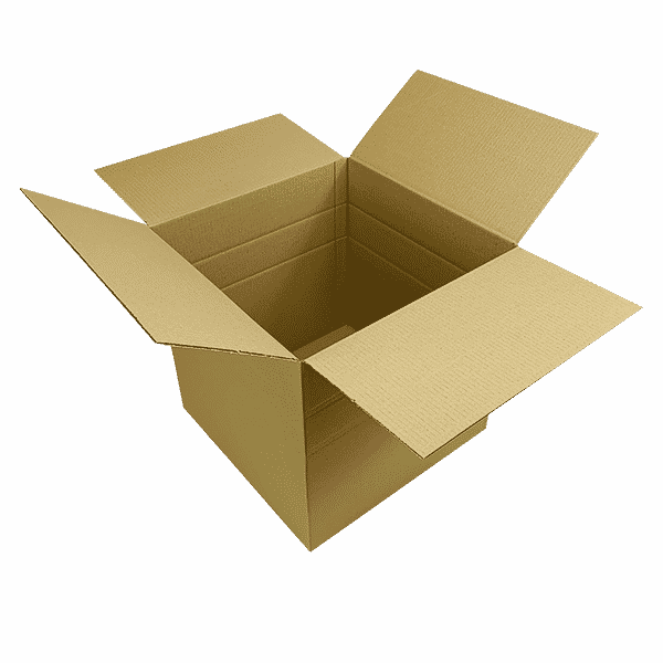 Single Wall Cardboard Boxes - 406x406x406mm
