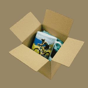 Single Wall Cardboard Boxes - 127x127x127mm