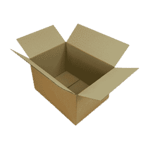 Single Wall Cardboard Boxes - 305x229x152mm