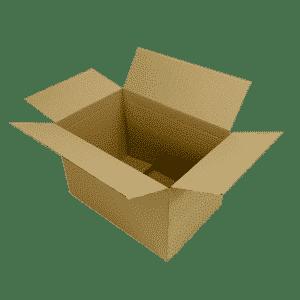 Single Wall Cardboard Boxes - 457x305x305mm
