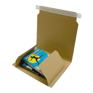 Book Wrap Mailers - 248x165x70mm - Packs Of 25 & 50