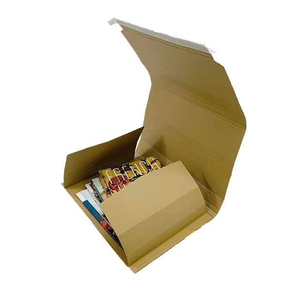 Book Wrap Mailers - 410x320x100mm - Packs Of 25 & 50