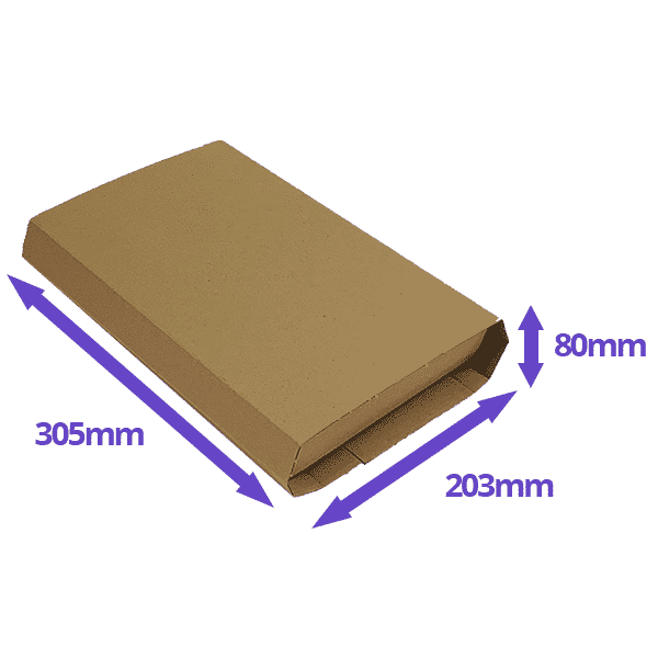 Twist Wrap Mailers - 305x203x80mm - Pack Of 25