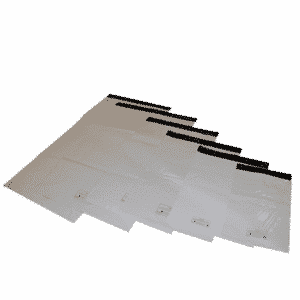 Polythene Heavy Duty Mailing Bags - 250 x 350mm - Pack Of 1000