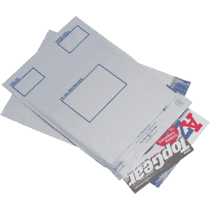 Postsafe Extra-Strong Polythene Envelope (C4) 240x320mm