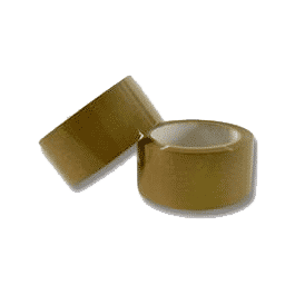 Q-Connect Low-Noise Packaging Tape Brown [KF04381]