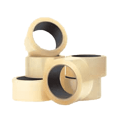 Q-Connect Packaging Tape Clear 50mmx66M [KF01791]