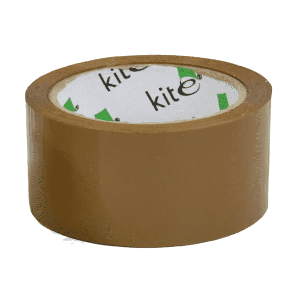 Rolls Of Brown Packing Parcel Tape 48mm x 66m