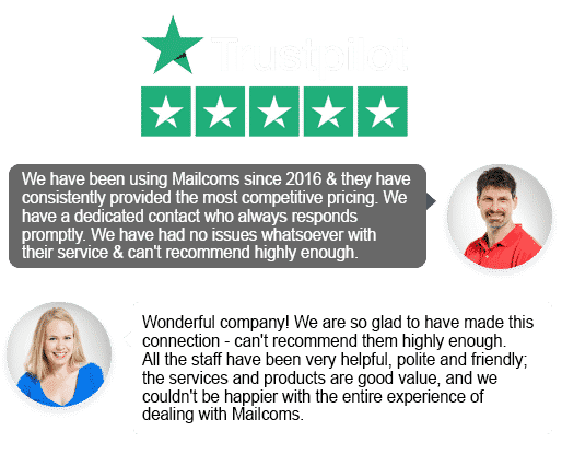 Mailcoms Trust Pilot Franking Machine Reviews
